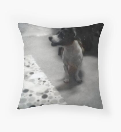 Ruby, Jack Russell Throw Pillow