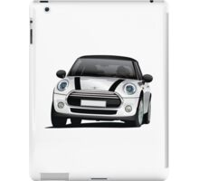 British hot hatch - silver iPad Case/Skin