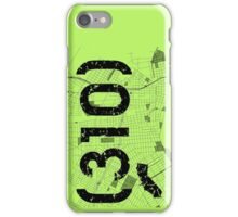 Area Code 310 California iPhone Case/Skin