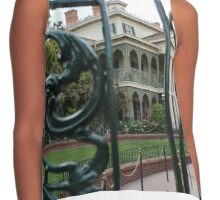 The Haunted Mansion Contrast Tank