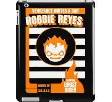 Vengeance drives a car #3 iPad Case/Skin