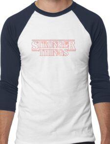 Stranger Things Fitness Stronger Things Men's Baseball ¾ T-Shirt