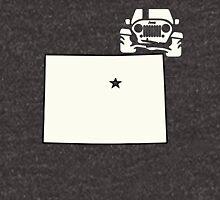 Colorado Outline Jeep Logo Unisex T-Shirt