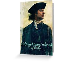 Freedom 'Many happy returns' cards Greeting Card