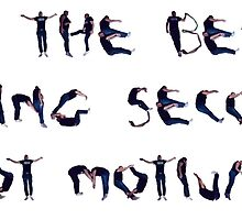 Do the best, being second is not motivating - Human letters by IrisFranken