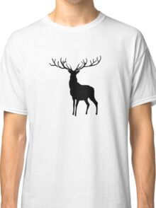 Buck in Black Classic T-Shirt
