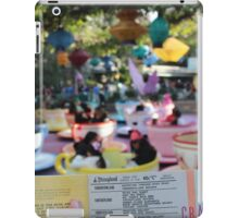C Ticket Attractions iPad Case/Skin
