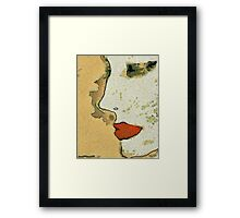 ....And the words of your heart Have become the common language of the concubines of the emperor.  Framed Print