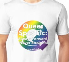 QSF Forward Logo - Transparent Unisex T-Shirt