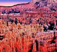 Bryce Canyon, Sunset Point by Nancy Richard