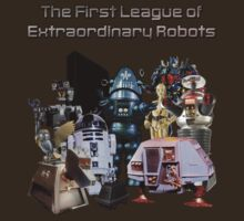 The First League of Extraordinary Robots T-Shirt