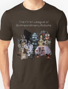 The First League of Extraordinary Robots T-Shirt