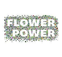 Flower Power Photographic Print
