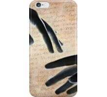 Reach out and touch someone !  iPhone Case/Skin