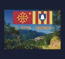 I love Lapege Kids Tee