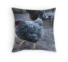 """""""Watch This!  One, Two, Cha-cha-cha . . ."""" Throw Pillow"""