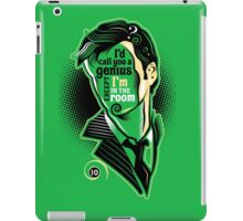 Who Says What - No. 10 iPad Case/Skin