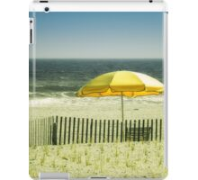Sitting By The Shore iPad Case/Skin