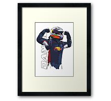 Daniel Ricciardo Framed Print