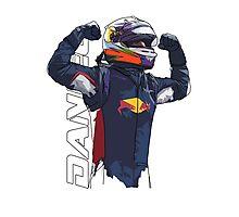 Daniel Ricciardo Photographic Print