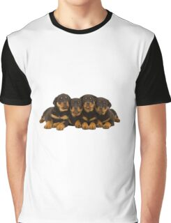 Adorable Rottweiler puppies Graphic T-Shirt