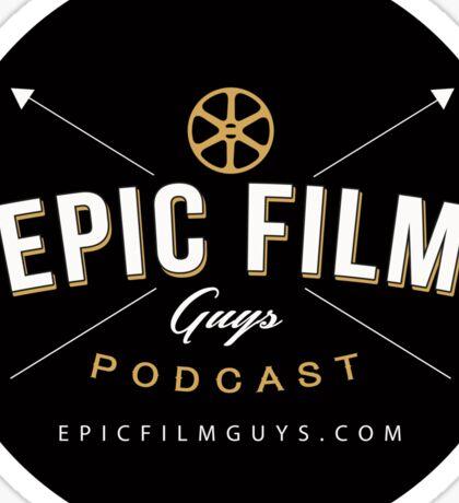 Epic Film Guys Podcast Sticker Sticker