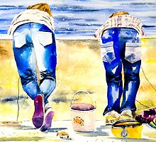 The Crab Catchers by closetpainter