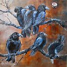 """The Courtroom Public Gallery (from """"A Murder of Crows"""") by bevmorgan"""