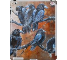 "The Courtroom Public Gallery (from ""A Murder of Crows"") iPad Case/Skin"