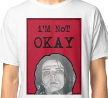 Gerard Way - I'm Not Okay (red version) Classic T-Shirt