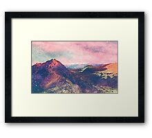 Walk on Mars Framed Print