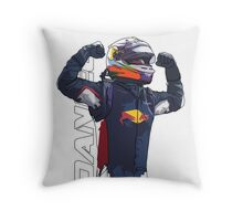 Daniel Ricciardo Throw Pillow