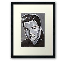 Elvis Rock and Roll Merch Framed Print
