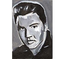 Elvis Rock and Roll Merch Photographic Print