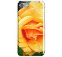 Yellow Peach Rose iPhone Case/Skin