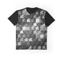AS THE CURTAIN FALLS (MONOCHROME) Graphic T-Shirt