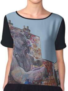 Message from the gods! Chiffon Top