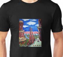 New Mexico Mountain Village Unisex T-Shirt
