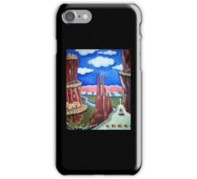 New Mexico Mountain Village iPhone Case/Skin