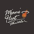 Miami Heat Thriller by Nick Tabri