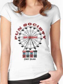 Fun Society Women's Fitted Scoop T-Shirt