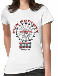 Fun Society Womens Fitted T-Shirt