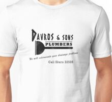 Davros and sons, plumbers... (aged) Unisex T-Shirt