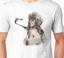 women with selfie stick Unisex T-Shirt