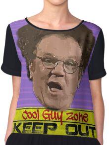 Cool Guy Zone Chiffon Top