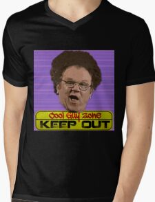 Cool Guy Zone Mens V-Neck T-Shirt