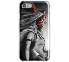 Mononoke Wolf Anime Tra Digital Painting iPhone Case/Skin