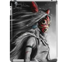 Mononoke Wolf Anime Tra Digital Painting iPad Case/Skin