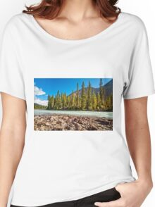 Yoho River Near Takakkaw Falls Women's Relaxed Fit T-Shirt