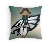 Eagle Muse Throw Pillow